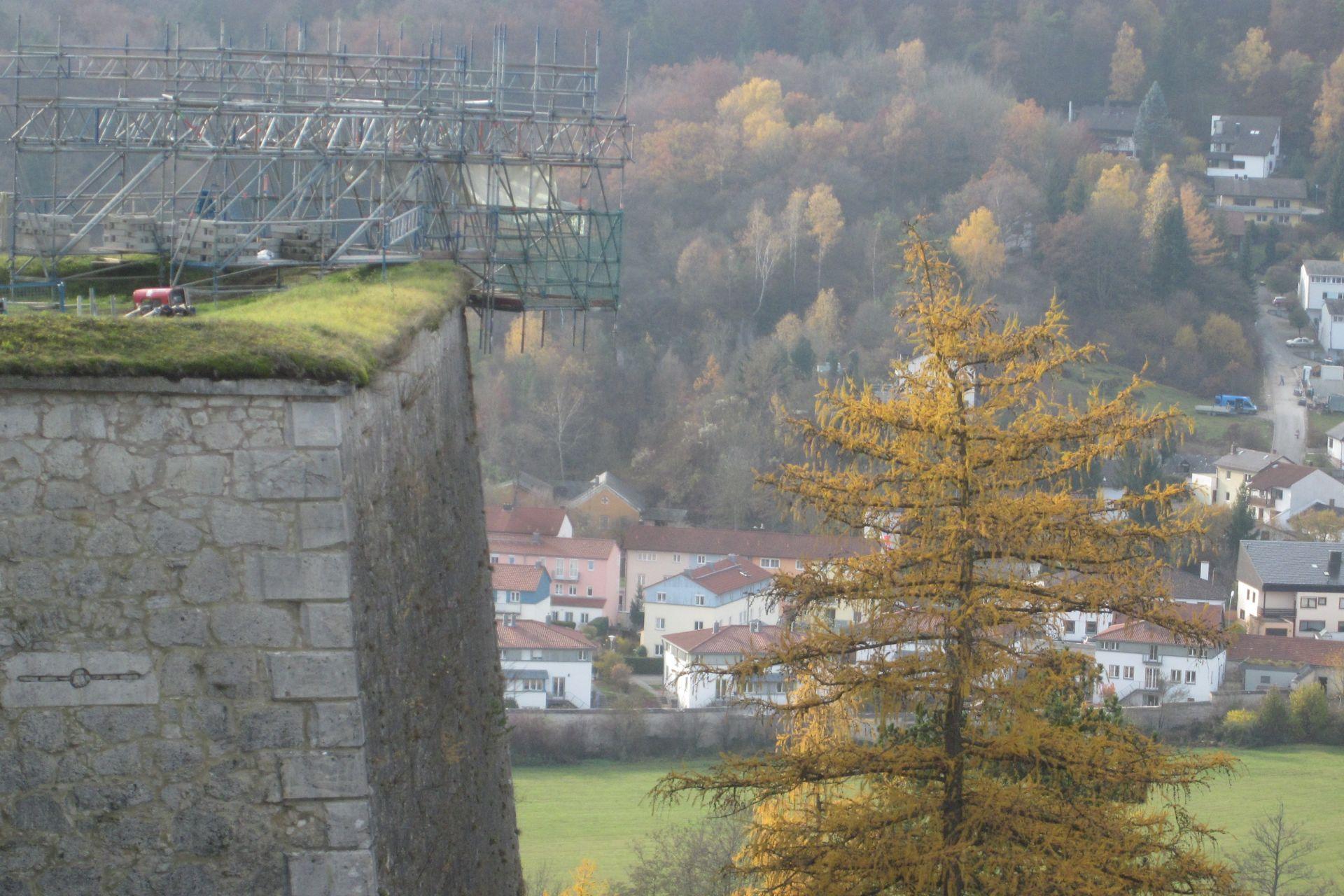 Willibaldsburg Eichstätt, 1. BA Verbesserung der Besucherinfrastruktur